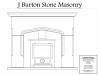 Chester stone fireplace plan