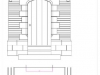 Sandstone front door arch drawing chester cheshire