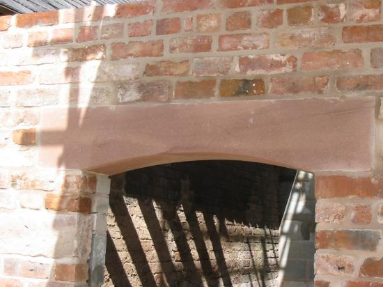 red-Sandstone-Arched-Lintel-in-Chester-Cheshire