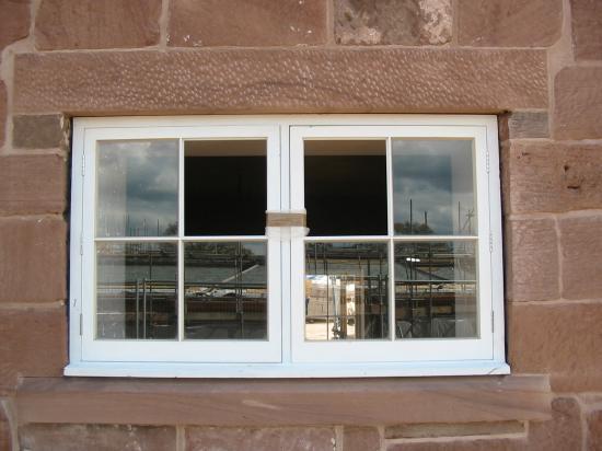 Sandstone window sill Lintel in Carden Cheshire