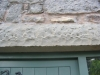 Sandstone window Lintel in Treuddyn Flintshire 2