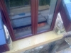 Sandstone window sill in Ruthin Denbighshire