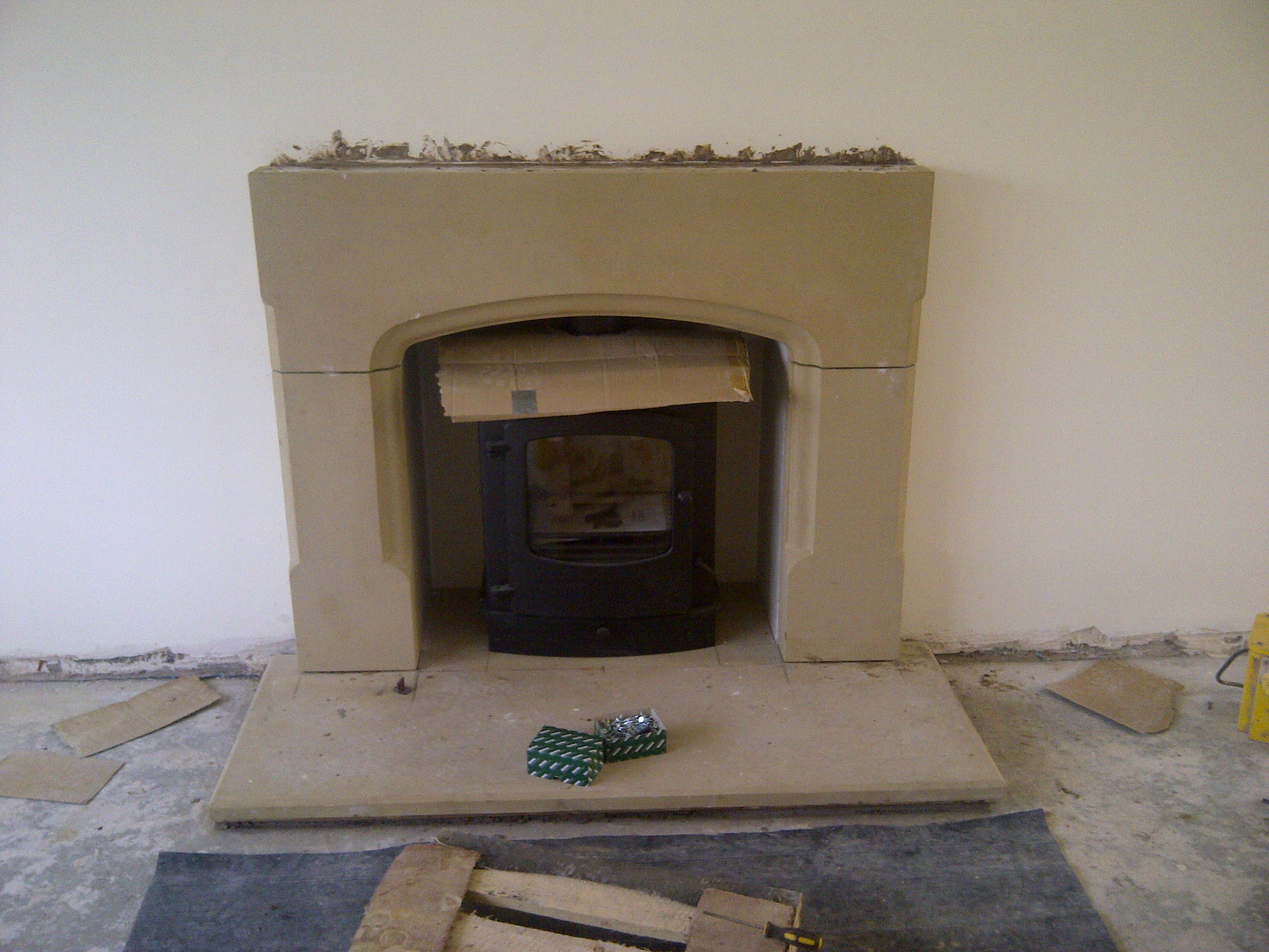 Wrexham stone fireplace2