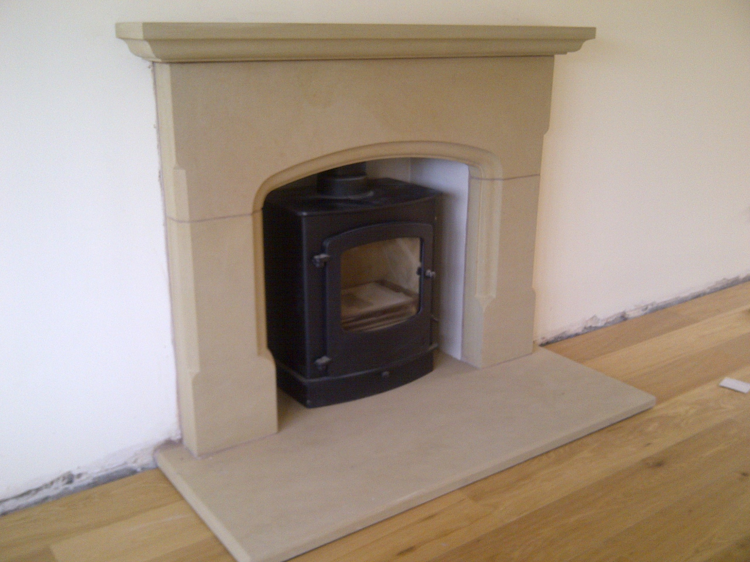 Wrexham stone fireplace5