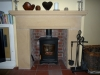 Sandstone-fireplace-surround Whitchurch