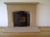 Wrexham stone fireplace4