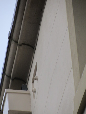 natural stone moulded parapet, with gutter8