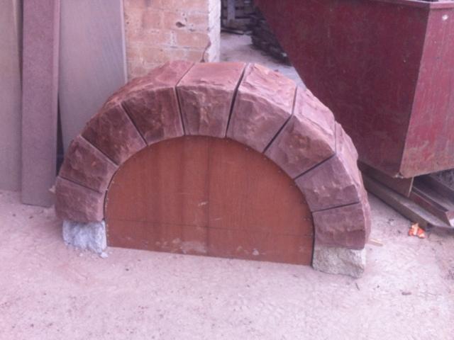 Sallys red sandstone arch (1)